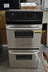 Ge Jrp28skss 24 Stainless Double Electric Wall Oven Nob 106792