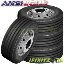 4 Americus Ps2000 295/75r22.5 144/141l G-load 14pr-ply All Steel Trailer Tires