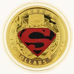 2014 100 Dollar 14k Gold Coin Iconic Superman Adventures Of Superman
