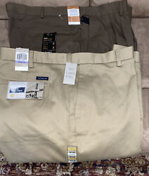 Nwt 2 Pairs Menandrsquos Pants Size 48 X 30 1 Dockers 65.00 1 Haggar 70.00