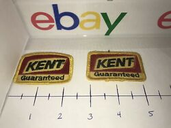 2vintage Kent Guaranteed Feeds, Cattle-hog-horse Livestock Feed Patch