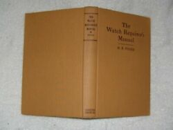 Watch Repairers Manual 2nd Edition By Henry Fried - Hardcover Excellent