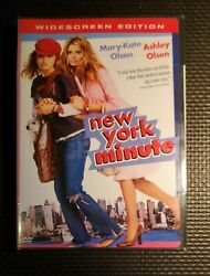 New York Minute DVD 2004 Mary Kate and Ashley Olsen Brand New Sealed $9.99