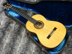 Used 1975 Yamaha Gc-20m Natural Classical Guitar Ebony Fb 660mm Scale W/hsc