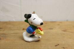 80s Determined Snoopy Western Series Ornaments/vintages Peanuts/pottery 14435