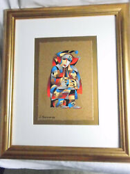 Anatole Krasnyansky Brass And Boots Serigraph Signed And Limited Edition 221 / 350