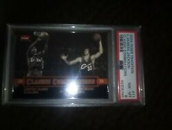 2004 Fleer Tradition Classic Combi. 11 L.james/l.jackson Psa 8 2nd Year 87/250