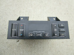 95 - 96 Cadillac Fleetwood Brougham A/c Heater Climate Control 16196506