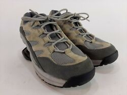 Z-coil Womens Pain Relief Freedom Sneakers Shoes Gray Low Top Lace Up Mesh 10