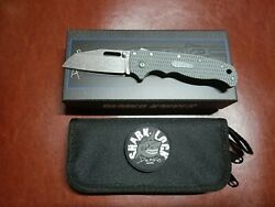 Demko Knives Ad20.5 Grey Grivory Aus10a Production Knife Sharksfoot Blade New