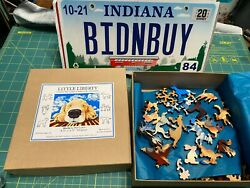 Little Liberty Classic Wooden Jigsaws Merlin By Phil Lewis 103 Pieces