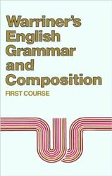 English Grammar And Composition First Course Grade 7 By John E. Warriner Vg+