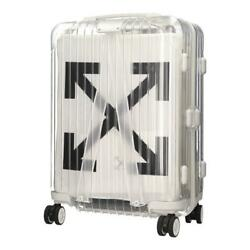 Rimowa X Off White 2nd Limited Product Travel Carry Case Luggage Unused Tsa 36l