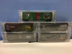N Scale Micro Trains Mtl Lowell Smith Lodges Of The National Parks - First 5