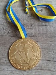 Bosnia And Hercegovina Gold Football Medal For National Cup Winner From 2008