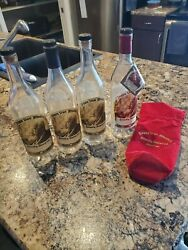 Pappy Van Winkle Empty Bottles 15 And 20 Year With Bag
