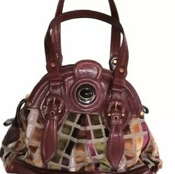 Boho Leather Large Bag by Lockheart Designer Bags Luxe Velutto $449.97