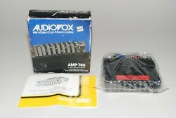 Vintage Audiovox Amp-785 7-band Car Stereo Graphic Equalizer Amplifier 1988 New