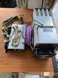 1 Bitmain Antminer L3+ 504+mh/s Doge Litecoin With Power Supply +challenge Coin