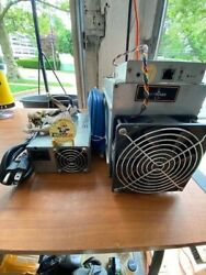 3 Bitmain Antminer L3+ 504+mh/s Doge Litecoin With Power Supply +challenge Coin