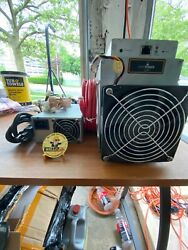 5 Bitmain Antminer L3+ 504+mh/s Doge Litecoin With Power Supply +challenge Coin
