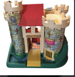 Vintage Fisher Price Play Family Castle 1970s