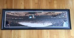 1994 New York Rangers Stanley Cup Win Panoramic Photo Rob Arra Signed Nhl Hockey