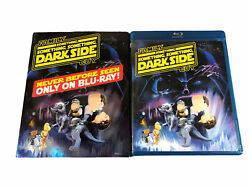 Family Guy Darkside Blu-ray Disc, 2009, 2-disc And Blue Harvest Dvd No Digital.