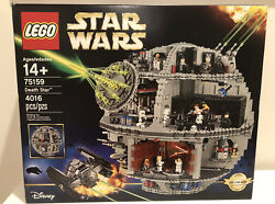 Lego 75159 Star Wars Death Star 2016 Used Complete Hard To Find 25 Minifigures