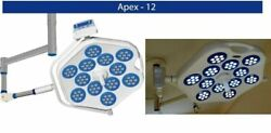 Examination Operation Theater Lights Surgical Led Apex 12 Lamp Single Dome Light
