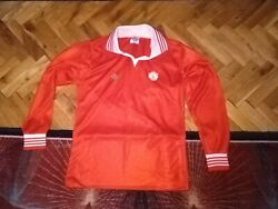 Manchester United Vintage Home Football Shirt 1977 Admiral Long Sleeve Size S