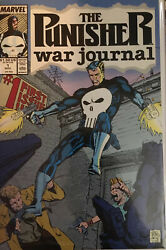 The Punisher War Journal 1987 Series 1-36 46 And 67 -- 38 Comic Lot