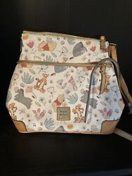 Disney Dooney And Bourke Winnie The Pooh Crossbody Letter Carrier Bag Purse Used