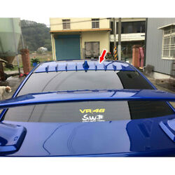 Painted Abs For Subaru Wrx Sti 4th 4dr Shark Fin Window Roof Spoiler 2018