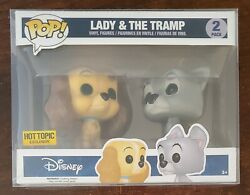 Funko Pop Lady And The Tramp 2 Pack | Hot Topic Exclusive