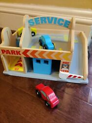 Melissa And Doug Car Wash Wooden Toy. Excellent Condition. Used