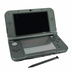 Nintendo 3ds Xl Gray/black Console - Used