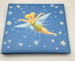 New Unsealed Disney Sandylion Tinkerbell Photo Album Holds 20 Pictures 8x8