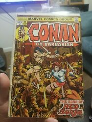 Conan The Barbarian 24. 3.0-4.0. 1st Red Sonja. Hot. Rare Advertisement Variant.