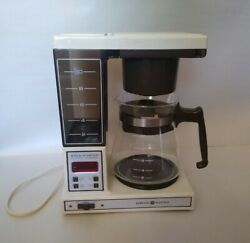 Ge General Electric Brew Starter Automatic Drip Coffee Maker Vintage