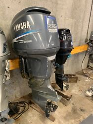 2004 Yamaha F225 Four Stroke 4-stroke 25 Outboard Boat Motor Parts Or Repair