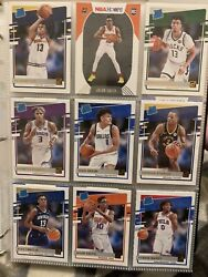 2020-2021 Nba Hoops Rookie Card Lot Of 27 Singles, Groups, Or All