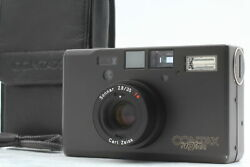 [mint] Contax T3d Double Teeth Black Point And Shoot Camera 70th Anniversary Japan