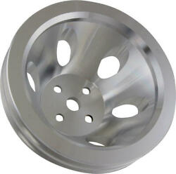 Chevy Small Block Aluminum Water Pump Pulley Small Water Pump 2 Groove