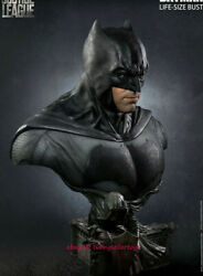 Queen Studios Batman 11 Life Size Bust Statue Justice League Rooted Hair New