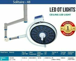 Solitaire 48 Ot Light Surgical Examination Lamp High Quality Sterilizable Handle