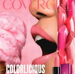 Covergirl Yummy Pink Ice Cream Mouth Open Close Up 2015 Print Ad