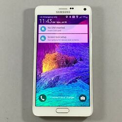 New Other Samsung Galaxy Note 4 32gb Sm-n910 Frost White Sprint Cdma Android