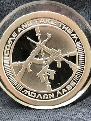 2013 1 Oz 999 Pure Silver Shield Round Coin Bullion Come And Take Them Proof