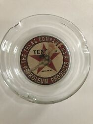 Vintage Texaco Pinup Girl Ashtray, Excellent Unused Condition New Old Stock